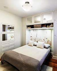 ... Gorgeous Ideas Room Designs For Small Bedrooms : Wonderful White Nuance Small  Bedroom Interior Decoration Design ...