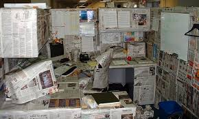 decorating your office cubicle. Cubicle Decorating - With Newspapers Your Office C