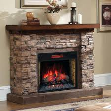 electric fireplace infrared stacked stone infrared electric fireplace lifezone electric infrared fireplace heater