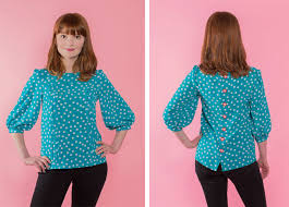 Blouse Sewing Pattern Magnificent Tilly And The Buttons MATHILDE
