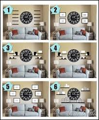 i was looking for ideas on how to decorate around a large wall clock  on large wall decor for bedroom with finally i was looking for ideas on how to decorate around a large