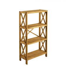 Bookcase Table Royal Oak 4 Shelf Bookcase Gillies
