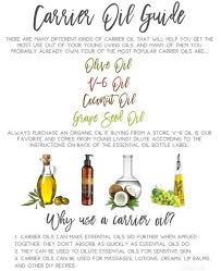 young living essential oils carrier oils