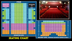 Seating Chart Pricing Theatre By The Sea