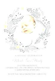 Baptism Card Template Baptism Card Template Invitation For Christening New Free