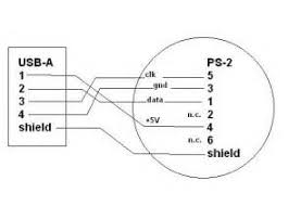 usb to ps2 wiring diagram images usb to ps2 wiring diagram circuit and schematic wiring