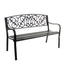garden benches metal. Gallery Of 2 Seater Park Bench Sturdy Garden Wooden Small Seat Metal Benches