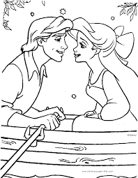 Small Picture The Little Mermaid Color Page Disney Coloring Pages Color Plate