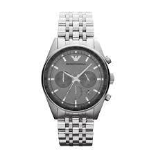emporio armani ar5997 sportivo silver mens bracelet watch in gallery