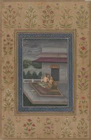 ragini sarang part of a ragamala opaque watercolor on paper india mughal 18th century