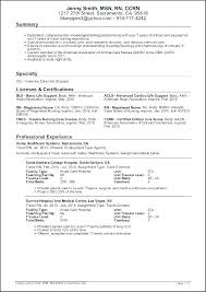 Template For Nursing Resume Nursing Resume Format Unique Nursing ...