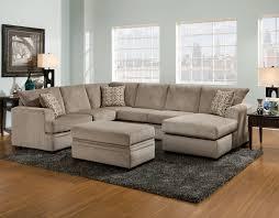 6800 – Cornell Platinum Sectional – American Furniture Manufacturing