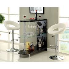 Shop Furniture of America Numbi 42 in x 41 in Oval Mini Bar at