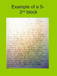 example of a 5 2 nd block sat essay examples 12