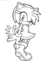 Sonic The Hedgehog Coloring Pages Free Games Online Book Colouring