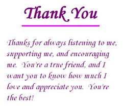 Appreciation Quotes For Friends Simple 48 Best Thank You Quotes With Pictures