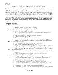 Mla Format For Essays Mla Argumentative Essay Outline Cover Letter