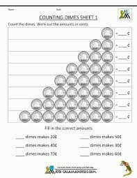 Math Coin Worksheets Coins Free Printable Combinations ...