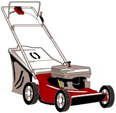 lawn mower clipart. lawnmower with bagger lawn mower clipart o