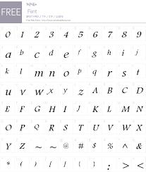 Footlight Mt W01 Light Italic 1 01 Fonts Free Download