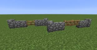 stone fence gate minecraft. I\u0027d Also Like To See Double-gates Be Recognized When Re-sizing Gates Into Cobble Walls. For Example: Stone Fence Gate Minecraft C