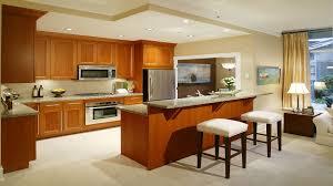 Small Studio Kitchen Kitchen White Wooden Kitchen Cabinet And Kitchen Island With