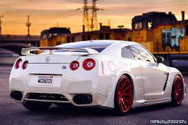 1920x1280 wallpapers nissan gt r white back red wheels