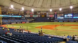 Tropicana Field Section 111 Tampa Bay Rays Rateyourseats Com