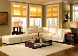 Yellow Brown Living Room Brown And Green Living Rooms Contemporary Living Room Design With
