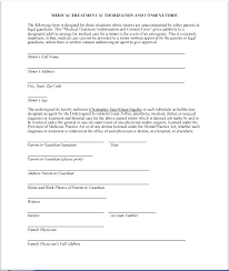 Free Medical Release Template Medical Release Forms Consent Form Unique Printable Medical Release Form For Children