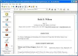 Resume Builder Software Full Version Free Download Free Resume