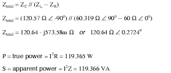 calculating power factor power factor electronics textbook Power Formula For 3 Phase the power factor for the circuit, overall, has been substantially improved the main current has been decreased from 1 41 amps to 994 7 milliamps, power formula for 3 phase