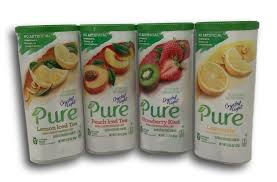 Crystal Light Pure Drink Mix Pitcher Pack 4 Flavor Variety