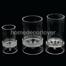 candle molds diy 3 pieces diffe size plastic clear candle molds soap mold for handmade candles