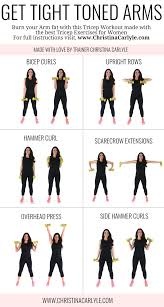 tight toned arms workout posted by customweightlossprogram