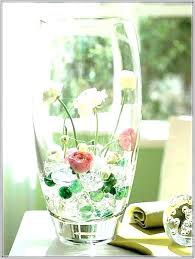 large decorative glass vases large round