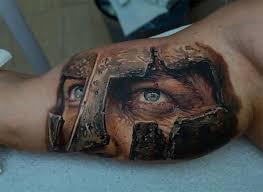 Roman Gladiator Tattoo Ideas