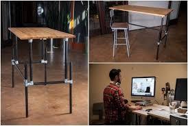 Source: Building an Adjustable Height Standing Desk [Video]