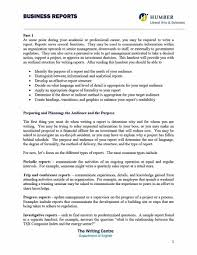 Business Report Layout Example Business Report Format Template Template's 17