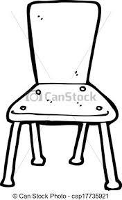 school chair drawing.  Chair Cartoon Old School Chair  Csp17735921 On School Chair Drawing