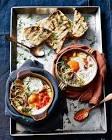 baked eggs en cocotte   italian style