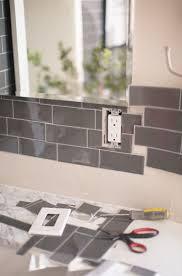 Peel And Stick Tile Designs Transform Your Bathroom With Peel And Stick Backsplash Tiles
