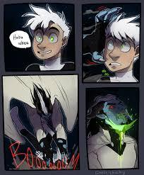 ectober comic pg danny phantom comic comic