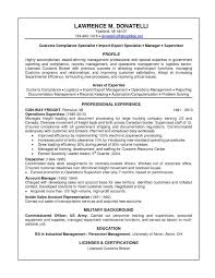 Resume Examples For Logistics Management Specialist Valid Resume