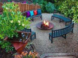 Lawn U0026 Garden  Small Round Shape Backyard Stone Garden Design For Simple Backyard Garden Ideas