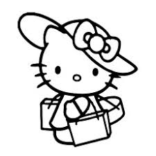 Hello Kitty Printable Coloring Pages At Getdrawings Com