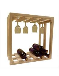Small wine racks Countertop Wine Wine Rack Glass Stack Winerackscom Small Capacity Wine Racks For Countertops Or To Hang