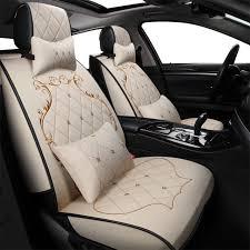 luxury car interior seats. Modren Interior Frontrear Car Seat Covers For Vw Hyundai IX25 Toyota RAV4 Auto Interior  Accessories Luxury On Luxury Car Interior Seats O