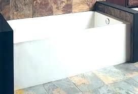 60x30 bathtub bathtub x white three wall alcove soaking tub with right cast iron 60 x 60x30 bathtub x bathtub archer x alcove