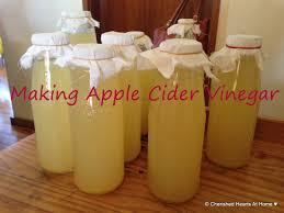 making apple cider vinegar for your home use